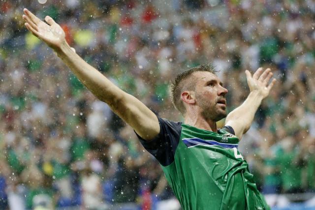 Temps idéal pour les Irlandais. Ils ont joué à domicile.