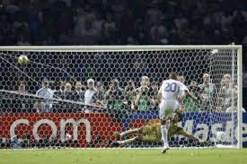 Finale de la coupe du monde 2006, la France tirait en second