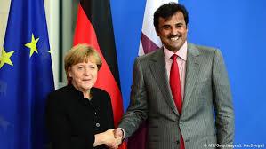 Mme Merkel négocie avec l'émir du Qatar la vente de la France