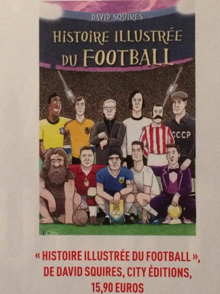 La BD qui réinvente l'Histoire du football