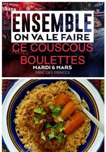 Ensemble cuisinons un couscous avec des boulettes de viande