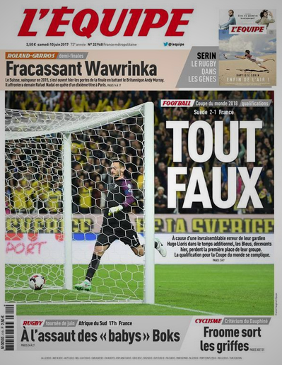 Lloris a commis une bourde incroyable. Mais non, l'Equipe de France n'a pas eu TOUT faux.