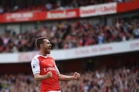 Ramsey célèbre son but décisif
