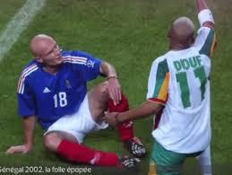 Leboeuf et Diouf, coupe du monde 2002