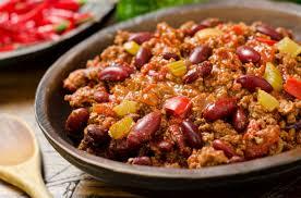 En attendant, un bon Chili con carne ne peut faire de mal