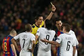 arbitre Barça PSG
