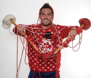 Le souriant Cazorla était absent mais voilà qui illustre comment un joueur peut tricoter sans efficacité