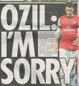Özil s'est excusé mais le scandale est énorme et éclabousse toute la société britannique