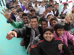 Les supporters indiens heureux de l'acquisition de l'équipe de France
