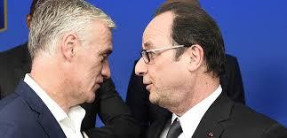 Le Président et le sélectionneur mettent au point la stratégie gagnante. Et la victoire contre l'Albanie a le goût du miracle.