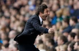Antonio Conte au coup de sifflet final. Ou après le cinqiuème but des Blues. Mais quelle importance finalement ?