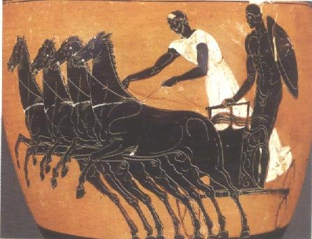 Quand les courses de char feront le retour aux JO les Grecs renoueront avec leur gloire passée. En attendant ...
